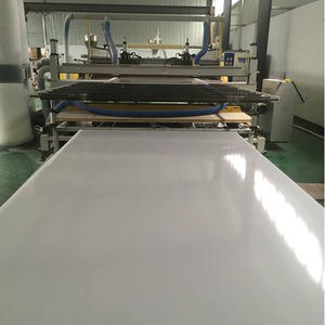 USA standard lead free white pvc form board