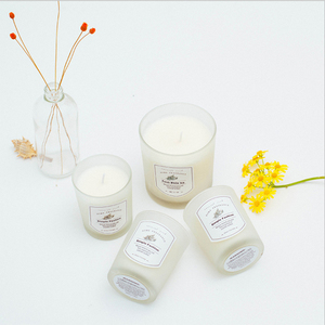 White Color and Yes Handmade Gift Candle Set