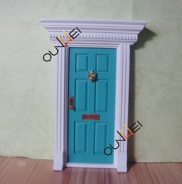 Wholesale price - Wooden Mini Door Fairy Door Colorful miniature door ...