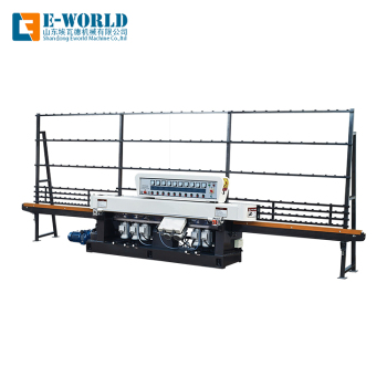 Low price new straight-line used glass edge polishing machines