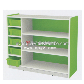 Children Furniture Kids Bookshelf Toy Chest Storage Shelves