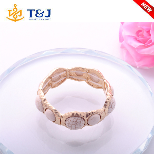 2016 Free Sample Classical Women's Retro Vintage Turquoise Cute Tibet Gold Bracelet & Bangel