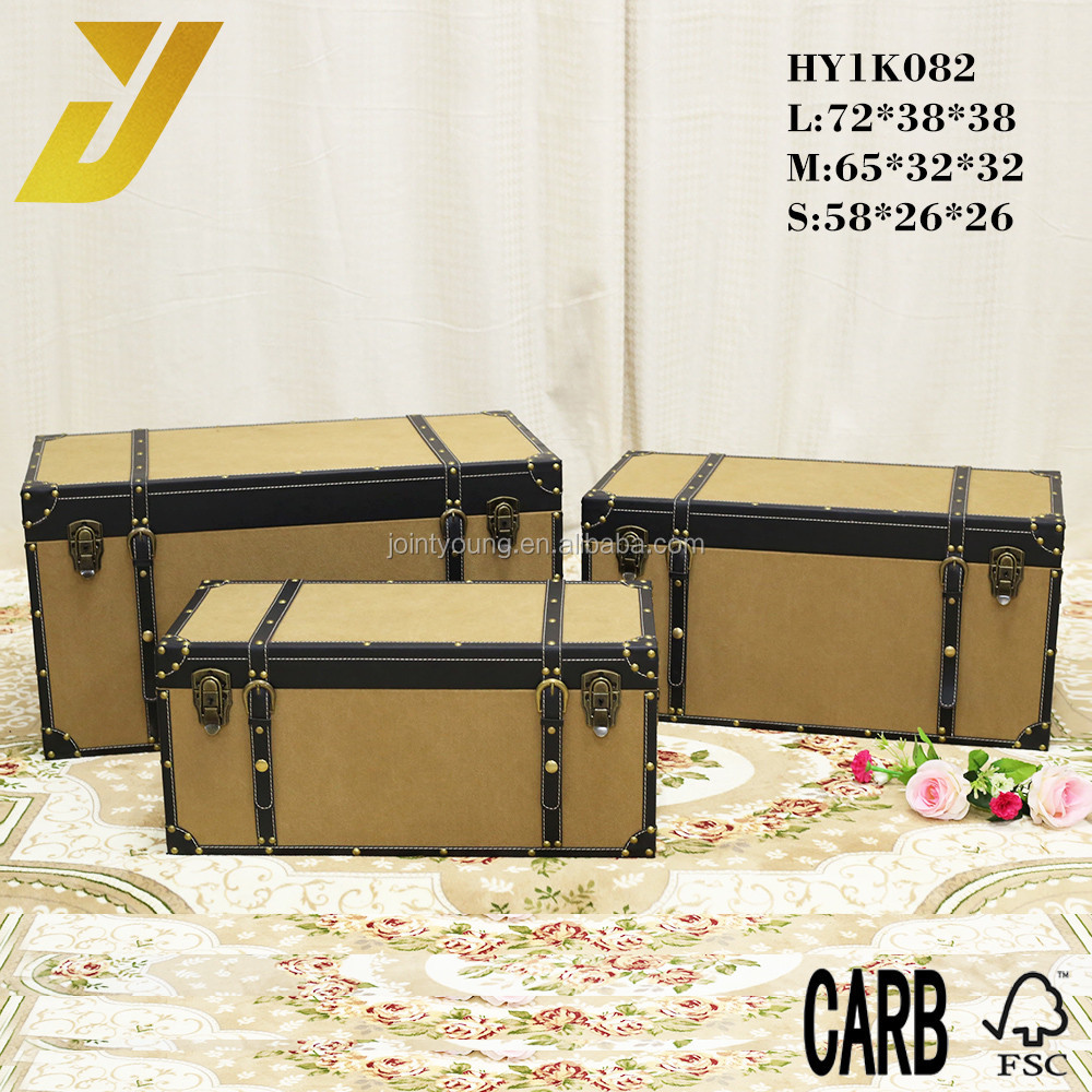 Fabric Covered Storage Trunk, Fabric Covered Storage Trunk ...