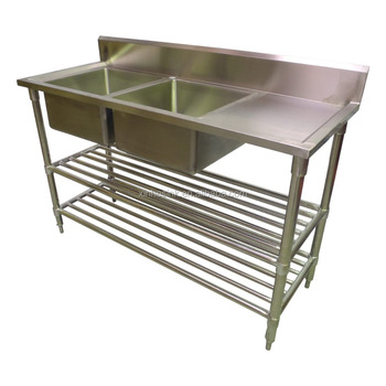 australian commercial kitchen sink with work table stainless steel rh alibaba com commercial stainless steel kitchen utility sink - 23.5 wide commercial stainless steel kitchen utility sink - 30 wide