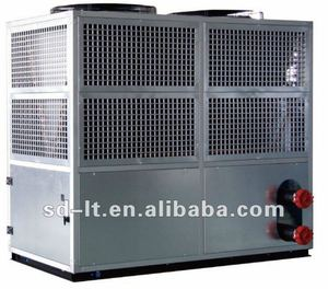 Box Type Scroll Compressor Industrial Air Cooled Chiller for Air Conditioning, Cooling&Domestic Hot Water
