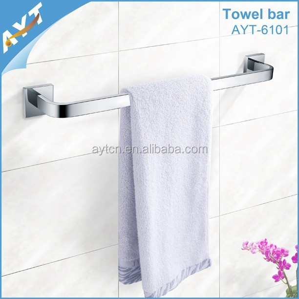 China bathroom accessories hotel towel bar holder, bath accessories china