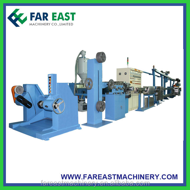 Shanghai Cable Sheath Machine PVC Compound Wire and Cable Extrusion Machine