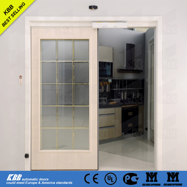 2016 Smart Home Door GI3000 Interior Automatic Sliding Door With Security  Glass
