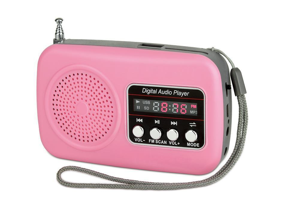 Hotsale Cheap Mini Pocket Digital Fm Radio Speaker For Christmas ...