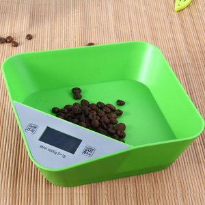 Digital food weighing scale digital kitchen scale with bowl for pet , animal