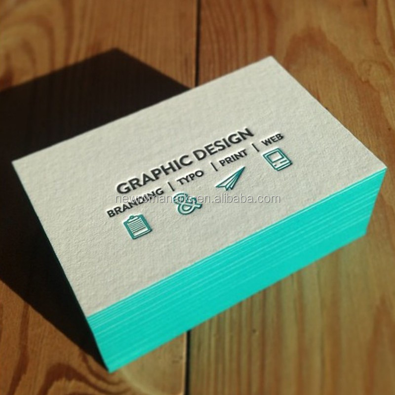 Customized Beautiful Design Business Card Printing Deboss/emboss ...