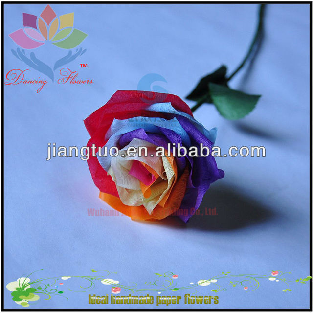 Handmade paper flowers instructions source quality handmade paper origami flower folding instructions for home decoration mightylinksfo