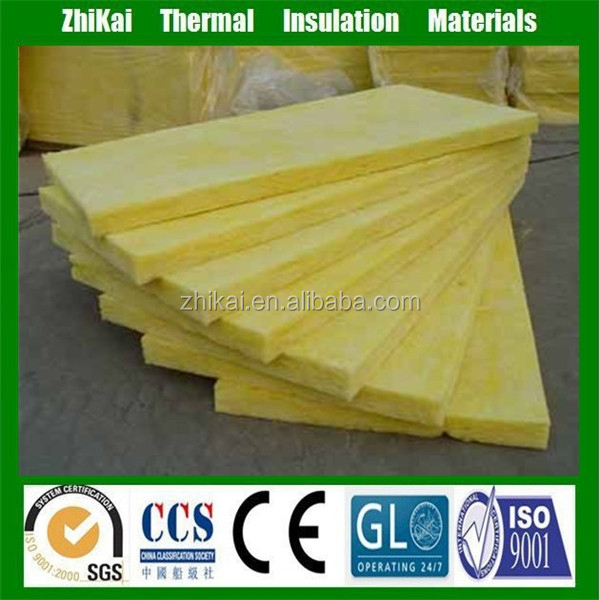 R19 Glass wool insulation price, Mineral glass wool board