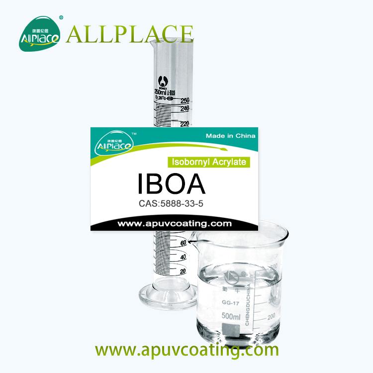 مصنع توريد 99 ٪ 5888-33-5 Isobornyl اكريليت IBOA / IBOMA