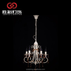 CENYU design candle Alloy flower european chandelier lamp wall light pendant light candle light