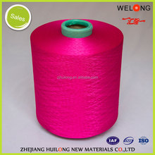 hangzhou polyester dty yarn 150/48 for knitting & embroidery