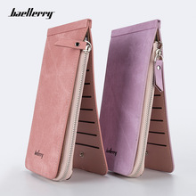 Baellerry purse ladies long multi-card zip wallet women Korean clutch bag female card holder stock slim wallets wholesale