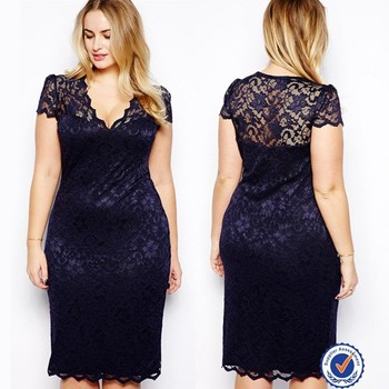 679fce41b0b New plus size women dresses designs latest fat women sexy tight lace dress