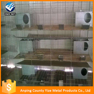 Hot selling cheap commercial rabbit cages /rabbits breeding cage farms (Factory)