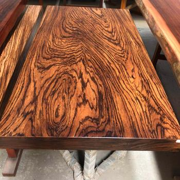 African Zebra Wood Slab Dining Table In Stock Thickness 4inch To 6inch View Live Edge Sugar Love Home Product Details From Foshan Leto