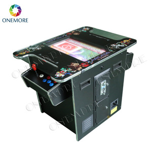 Arcade Cocktail table Game machine (2 sides,2 players of 15 inch LCD monitor 60 in 1 classical game)