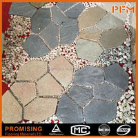 Natural top quality slate flagstone flooring