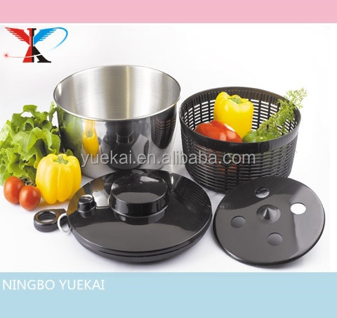 Stainless Steel Salad Spinner/Vegetable Spinner