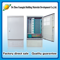 communication equipment drop cable distribution box 576 core fiber optic terminal cabinet with low price