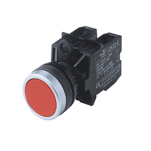 CJK22 series 22mm plastic waterproof momentary /latching push button switch