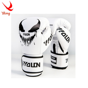 PU leather boxing gloves design your own boxing gloves