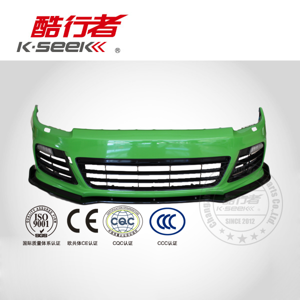 ABS Front Bumper Lip For 10 Scirocco Body Kit