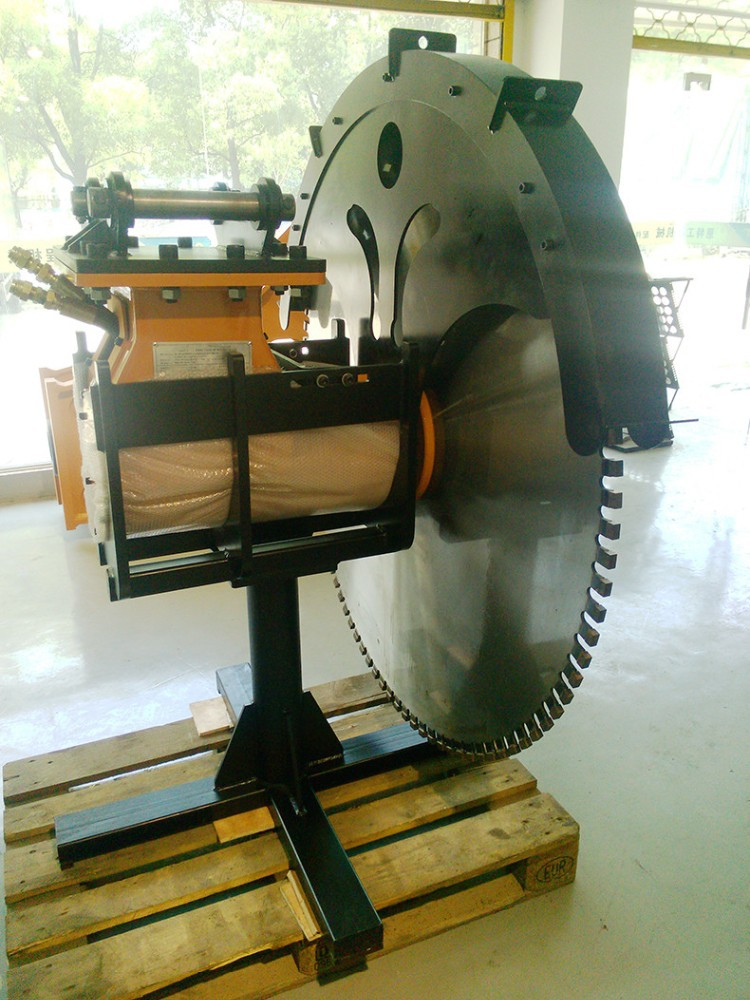 Construction Parts Excavator Stone Cutting Machinery With