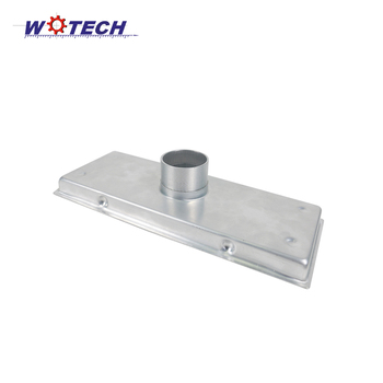 Customized Deep Drawing Part Aluminum Ground Leakage/Floor Drain