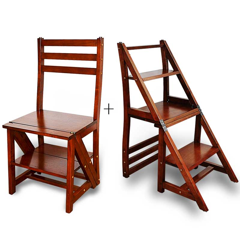 New design high quality function wooden ladder chair buy for Sillas automaticas para escaleras