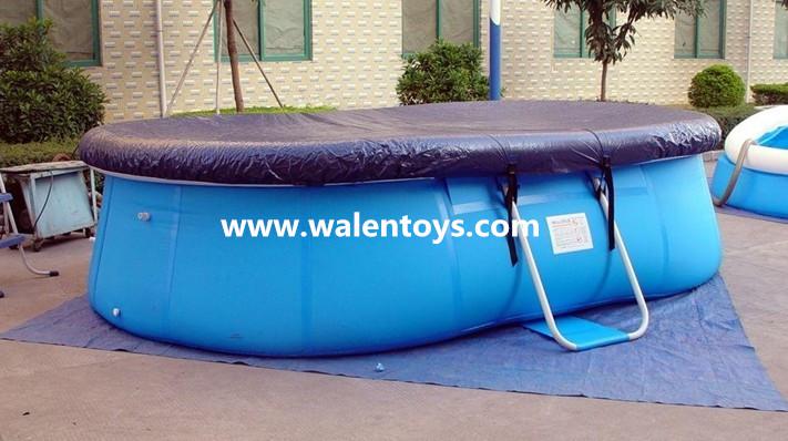 piscina de plastico com tampa
