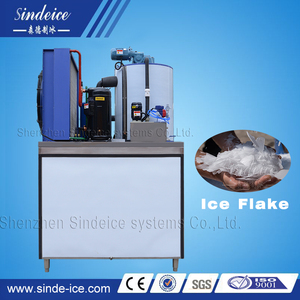 Commercial 2T/Day Snow Flake Dry Ice Making Machine/Maker/Plant with Saltwater/Freshwater use Available