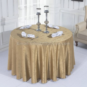 Free Shipping Coffee Jacquard Table Clothes Fancy Dinner Decorative Cover Ivroy Cloth Damask Covers