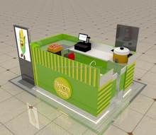 indoor sweet corn and popcorn kiosk design for sale shop furniture