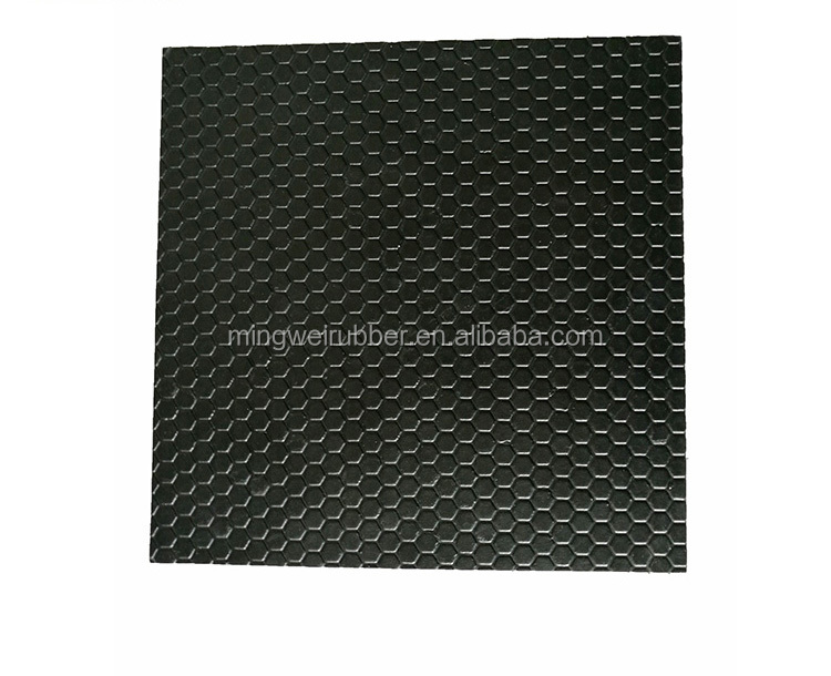 American Utility Mat Pebble Hexagon Anti-Slip Horse Stall Rubber Mat Stable Cow Safety Matting