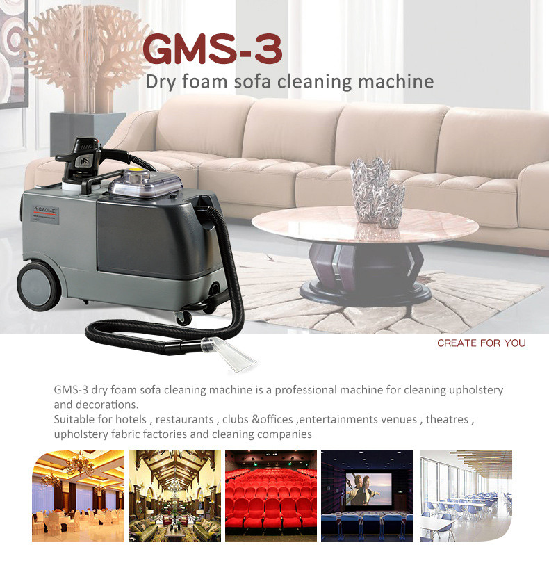 Three-in-one Dry Foam Sofa Cleaning Machine for Cleaning Company ...