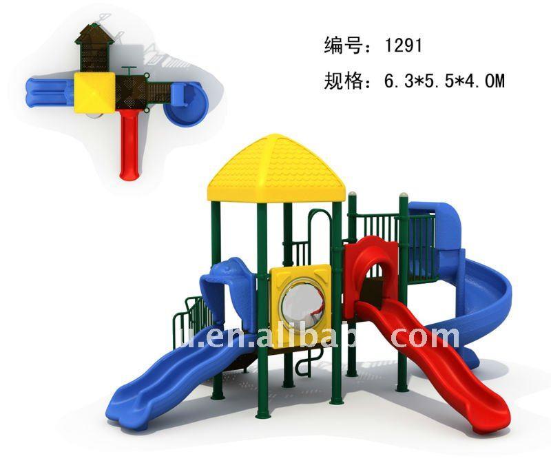 Preescolar Utilizan Niños Juegos Al Aire Libre Paseo Del Kiddie ...