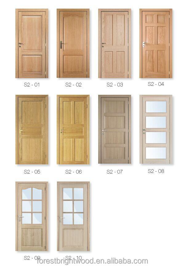 Interior solid wood panel mdf veneer door skin buy wood for Interior solid wood door designs