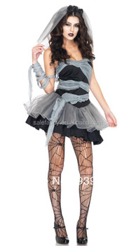 Scary Halloween Costumes Ideas For Adults.Free Shipping Newest Black Grey Scary Halloween Costume Ideas For Women Sexy Vampire Cosplay Outfit Dead Qawc 8518 Buy Sexy Vampire