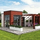 Factory Supply pre fab kit set resort expandable container home homes built luxury with great price