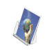 Acrylic Literature Document Brochure a4 Portrait Display Holder
