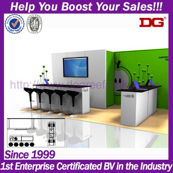 Custom Modern Portable Best Trade Show Booth Designs (dg-tz02 ...