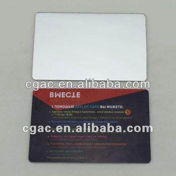 Mirror effect metal business card buy mirror effect metal business mirror effect metal business card colourmoves