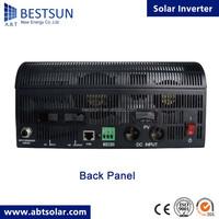 BESTSUN 3000W pure sine wave power inverter DC 12/24V to AC 220V digital display with Charger