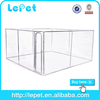 13'x13'x6'(4x4x1.8m) cheap large outdoor iron chain link dog cage singapore sale