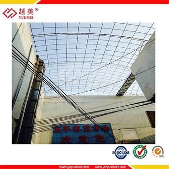 Guangzhou Yuemei Clear Plastic Gazebo Sealing Tape Uv Coated Polycarbonate  Sheet - Buy Clear Plastic Gazebo,Polycarbonate Sealing Tape,Uv Coated